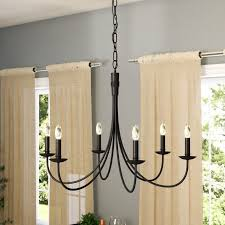 souders 6 light candle style chandelier