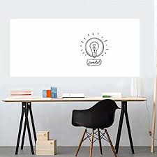 removable whiteboard sticker dry erase whiteboard wall decal l stick message board sticker with a