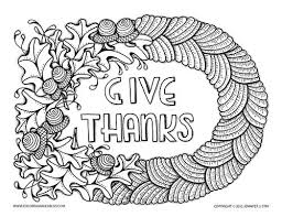 Free Coloring Sheets On Thanksgiving Quotes Gratitude