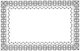 antique frame border. Imgs For \u003e Antique Frame Border Clipart E
