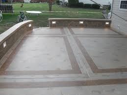 backyard concrete designs. Plain Designs Cement Patio Designs  Unique Concrete Design LLP U0026 Masonry  Greenville SC Intended Backyard Designs O