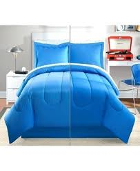 blue and white tie dye comforter charming square reversible 8 full set bedding t
