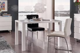 Table De Cuisine Design Laquée Blanche Destiny Matelpro