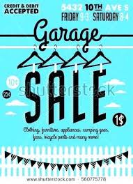 Yard Sale Flyer Template Elegant Garage Big Create A Poster About