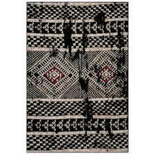 adirondack black light gray 8 ft x 10 ft area rug