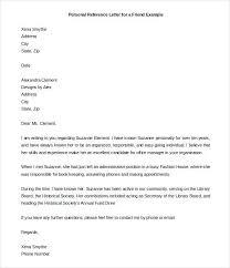 Proper Reference Letter Format | Nfcnbarroom.com