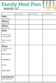 family menu template best 25 meal planning templates ideas on pinterest weekly menu