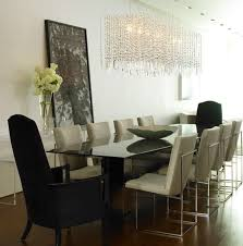 image of modern dining room chandelier ideas