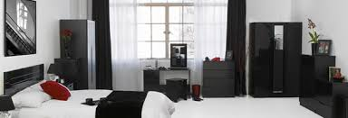 bedroom furniture black gloss. Black Gloss Mirrored Bedroom Furniture Photo - 7