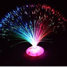 Optic Arts Lighting Color Changing Led Fiber Optic Nightlight Lamp Bright Light