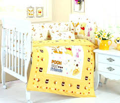 winnie the pooh baby bedding the pooh nursery bedding yellow nursery bedding plus theme the pooh winnie the pooh baby bedding