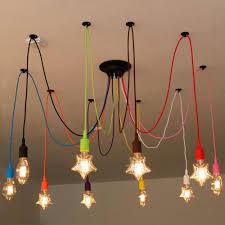 diy colourful spider chandelier lamp lights led retro spider lighting ac110 240v custom made big chandeliers bedroom dining room chandeliers for bedrooms