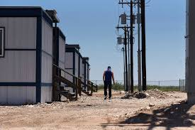 Welcome To The Man Camps Of West Texas Bloomberg