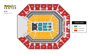 Arco Concert Seating Chart Arco Arena Seating Rose State