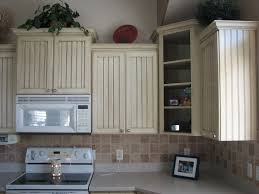 Kitchen Cabinets Beadboard How To Reface Kitchen Cabinets With Beadboard