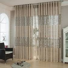 light brown living room curtains