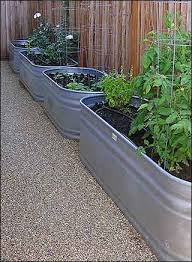 Water Troughs all in a row