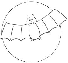 Coloring Pages Bats