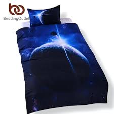 galaxy duvet covers galaxy bedding set queen size earth moon print duvet cover with pillowcase outer space