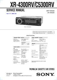 sony cdx gt600ui wiring diagram sony image wiring sony cdx gt55uiw gt550ui gt600ui ver1 0 service manual on sony cdx gt600ui wiring diagram