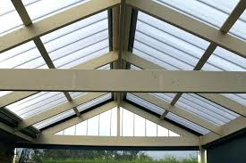 corrugated polycarbonate roof panel roofing installation mm grey pergola plastic
