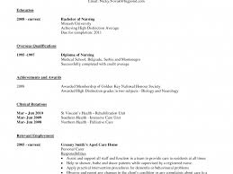 Enjoyable Design Student Nurse Resume 16 Example Free Sample