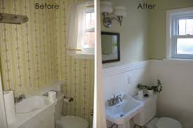 Remodelaholic Complete Half Bath Remodel Guest - Before and after bathroom renovations