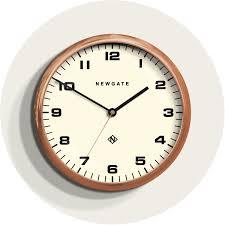 copper wall clock large kitchen newgate clocks chrysler 406rac homeware