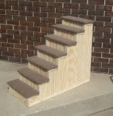 dog steps for bed wooden dog stairs for tall beds best dog