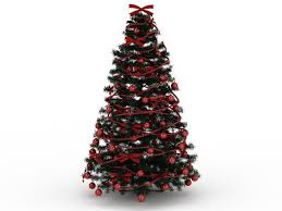 Red Christmas Tree 3d Model 3ds Max Files Free Download Modeling