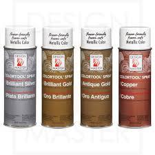 Design Master Gold Spray Paint Design Master Colortool Spray Paint 11 Oz 312 G Metallic Colors Floral Safe