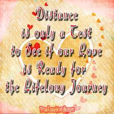 long distance relationship love es for him