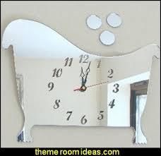 Cool Bathroom Clocks decorating theme bedrooms - maries manor: bathroom  accessories