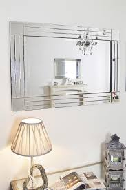 Bevelled Bathroom Mirror Bevelled Mirror As Indoor Decorative Touch Lgilabcom Modern