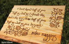 Bilbo Baggins Quotes Stunning Bilbo Baggins Quote Hobbit Wall Hanging Fan Gift Lord Of The Rings