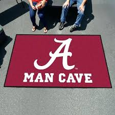 ideas alabama area rug and crimson tide man cave area rug 72 alabama football area rugs
