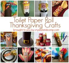 Toilet Paper Roll Thanksgiving Crafts #thanksgiving