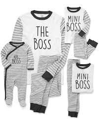 Carters Sleepers Size Chart Family Matching Boss Pajamas Carters Com