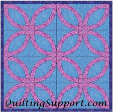 Free Wedding Ring Quilting Pattern &  Adamdwight.com