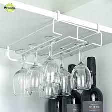 wine glass racks rack under cabinet basket for dishwasher wire holder ikea storage box wood plans bars