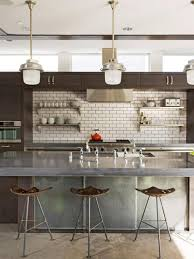 Industrial Kitchen Furniture Designer Kitchens For Less Hgtv
