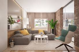 living rooms with exposed brick walls under cute living room decor ideas