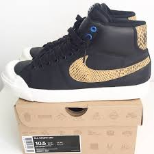 Nike All Court Mid x Stussy XXX US10.5 1110455 from unikkesoles.