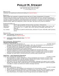 Military To Civilian Resume Template Resume template for military veterans best of military service 57