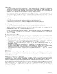Poor Termination Voluntary Of Employment Letter Template