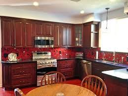 red backsplash tile full size of kitchen glass tile dark cabinets red backsplash tile