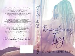 Angelica's Book Haven: Cover Reveal - Remembering Ivy by Claire Kingsley