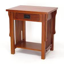mission oak furniture. Wayborn Furniture Mission Oak Birch Nightstand
