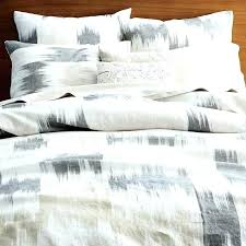 belgian flax linen duvet cover sham flagstone west elm review awesome blurred shams in