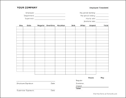 Printable Weekly Time Cards Employee Time Card Template Employee Time Card Template